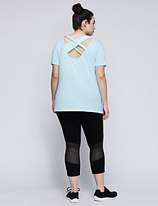 Strappy-Back Active Tee