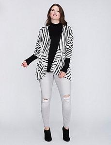 Zebra Print Overpiece