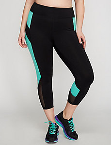 Colorblock Active Capri Legging by Jessica Simpson