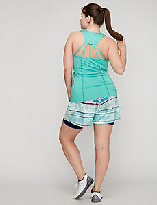 Strappy-Back Compression Active Tank by Jessica Simpson