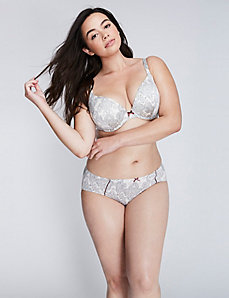 Intuition Lightly Lined Uplift Plunge Bra