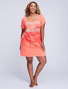 Modal Short-Sleeve Sleepshirt