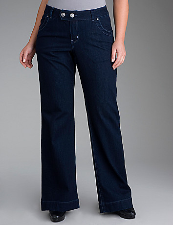 Trouser style jean by Lane Bryant