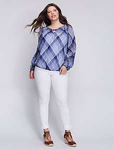 Plaid Artist Top