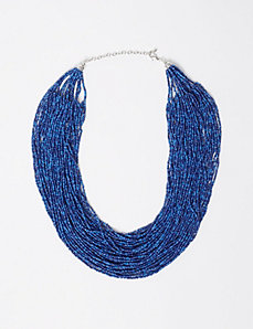 Multi-Layer Seed Bead Necklace