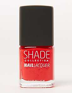 Satin Red Nail Polish
