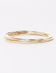 5-Row Intertwined Bangles