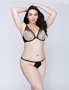 Eyelash Lace String Bikini Panty
