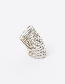 Diamond-Cut Spring Ring