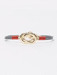 Corded Star & Knot Bracelet