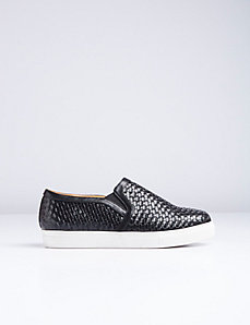 Woven Slip-On Sneaker