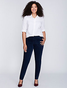Patch Pocket Corduroy Skinny Pant