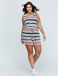 Striped Romper by C&C California