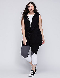 Zip-Up Vest with Hood