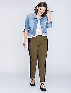 plus size green pants - Pi Pants