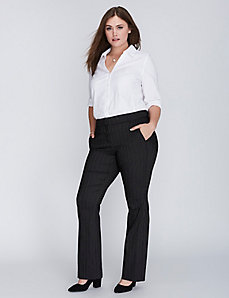 Striped Ashley Sexy Stretch Boot Pant