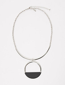 Short Half-Circle Necklace