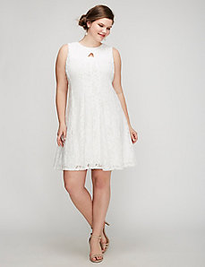 Keyhole Lace Dress by Gabby Skye