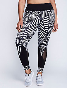 Signature Stretch Legging with Mesh