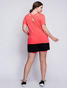 Cross-Back Active Graphic Tee