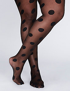 Large Dot Tights