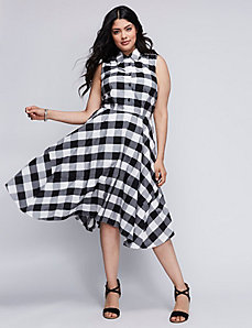 Gingham Shirtdress by Julia Jordan