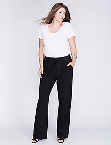 Lena Tailored Stretch Belted Trouser