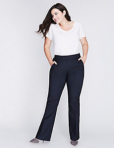 Lena Sexy Stretch Faux-Denim Boot Pant