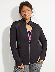 Wicking Active Jacket with Mesh Insets