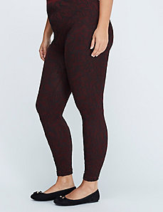 Textured Lace Legging