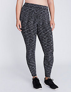 Wicking Spacedye Active Legging