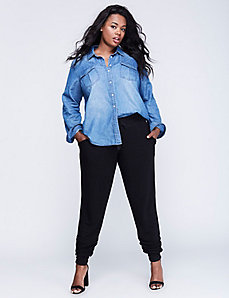 The Chambray Boyfriend Shirt