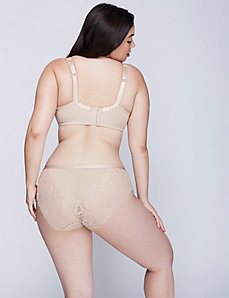 Lace-Back Dazzler Hipster Panty
