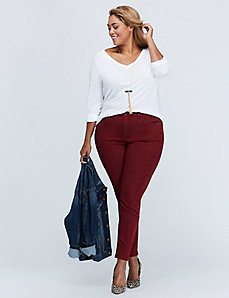Colored High-Rise Jegging