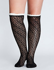 Boot Sock with Lace