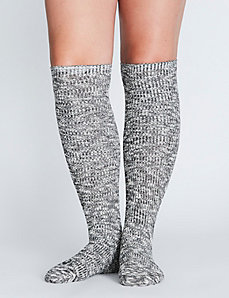 Heathered Boot Sock