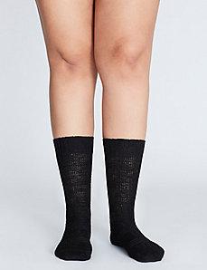 Slub Crew Sock