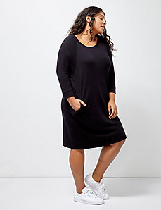 6th & Lane Sweatshirt Dress