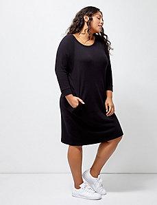 6th & Lane Sweatshirt Dress