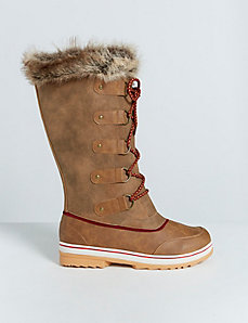 Tall Faux Fur Winter Boot