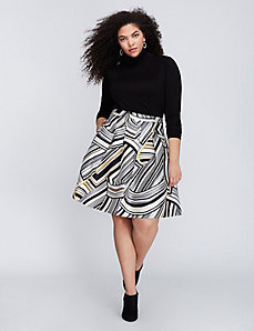 Swirl Circle Skirt