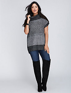 Funnel Tunic Sweater