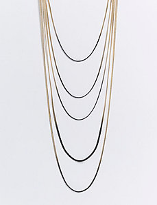 5-Layer Ombre Chain Necklace