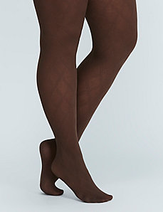 Double Diamond Control Top Tights