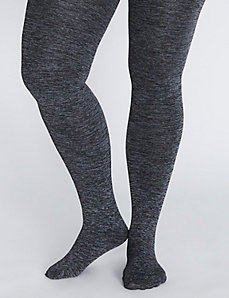 Heather Gray Fleece Tight