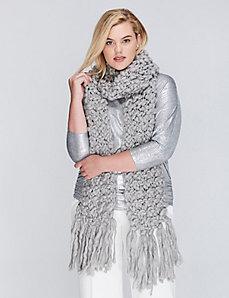 Pastel Chunky Knit Scarf