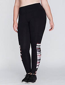 Spliced Wicking Active Legging