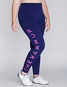 The Warm Up Logo Legging by Jessica Simpson