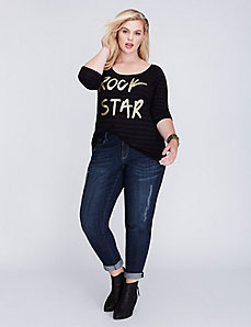 Rock Star Graphic Tee