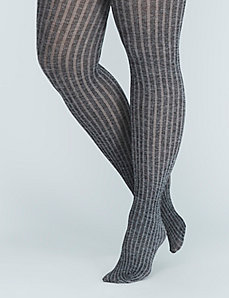 Ribbed Sweater Knit Tights